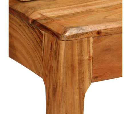 vidaXL Rašomasis stalas su stalčiais, mediena, 88x50x90cm[6/13]