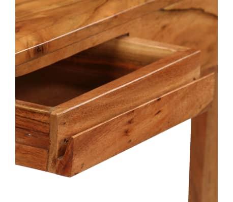 vidaXL Rašomasis stalas su stalčiais, mediena, 88x50x90cm[7/13]