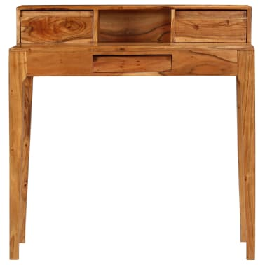 vidaXL Rašomasis stalas su stalčiais, mediena, 88x50x90cm[2/13]