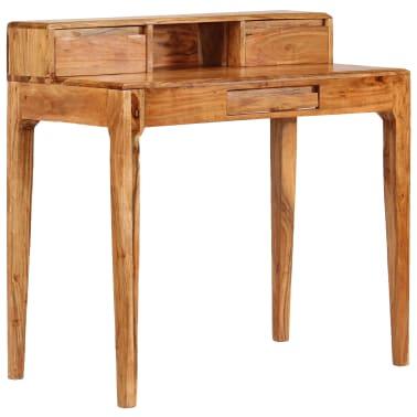 vidaXL Rašomasis stalas su stalčiais, mediena, 88x50x90cm[12/13]