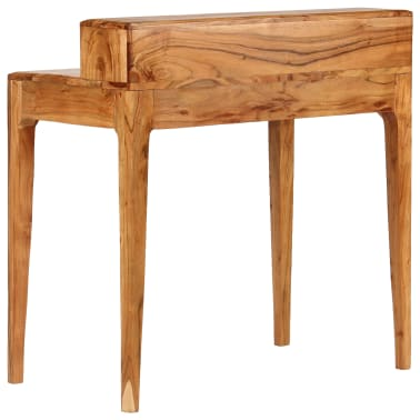 vidaXL Rašomasis stalas su stalčiais, mediena, 88x50x90cm[4/13]