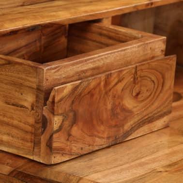 vidaXL Rašomasis stalas su stalčiais, mediena, 88x50x90cm[8/13]