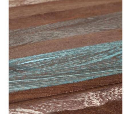 vidaXL Mesa de comedor vintage de madera maciza 118x60x76 cm | vidaXL.es