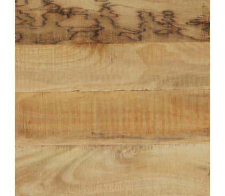 vidaXL Stół do jadalni z litego drewna, vintage, 118 x 60 x 76 cm[7/12]