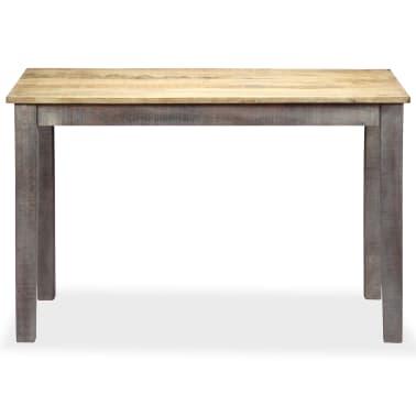 vidaXL Stół do jadalni z litego drewna, vintage, 118 x 60 x 76 cm[2/12]