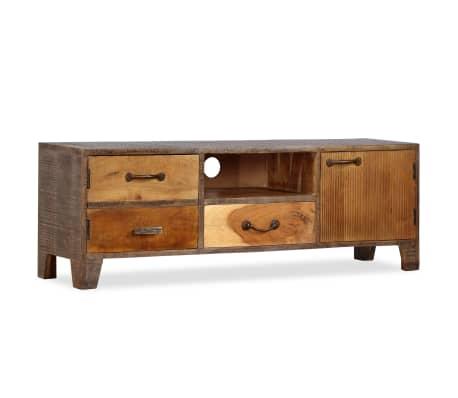 vidaXL Tv-meubel vintage 118x30x40 cm massief hout[11/13]
