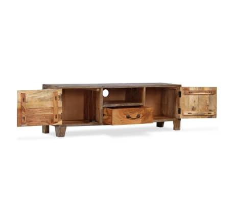 vidaXL Tv-meubel vintage 118x30x40 cm massief hout[3/13]