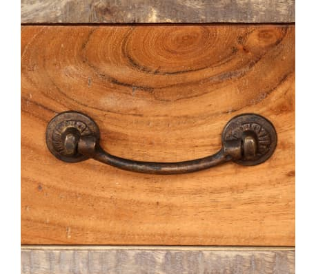 vidaXL Tv-meubel vintage 118x30x40 cm massief hout[6/13]