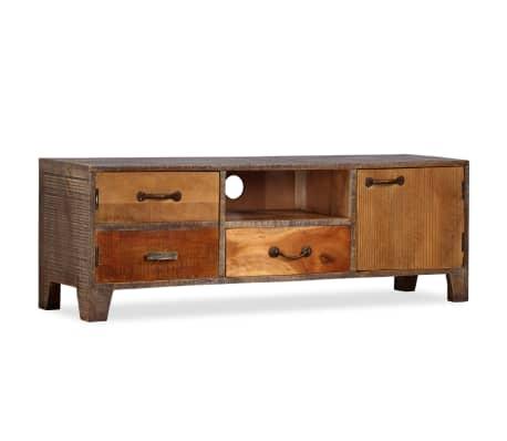 vidaXL Tv-meubel vintage 118x30x40 cm massief hout[10/13]