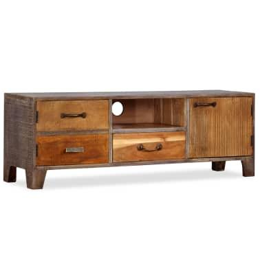 vidaXL Tv-meubel vintage 118x30x40 cm massief hout[12/13]