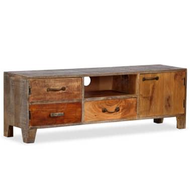 vidaXL Tv-meubel vintage 118x30x40 cm massief hout[13/13]