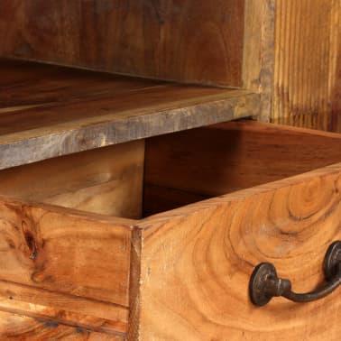 vidaXL Tv-meubel vintage 118x30x40 cm massief hout[7/13]
