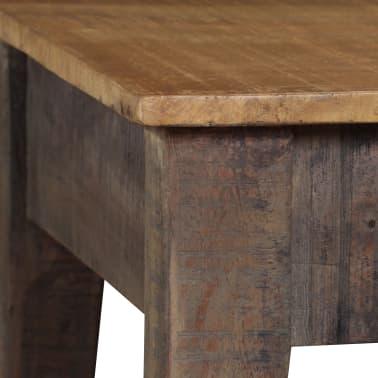 vidaXL Kavos staliukas, medienos masyvas, vintažinis st., 118x60x40cm[5/13]