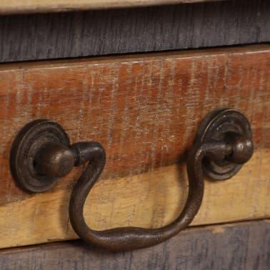 vidaXL Kavos staliukas, medienos masyvas, vintažinis st., 118x60x40cm[6/13]
