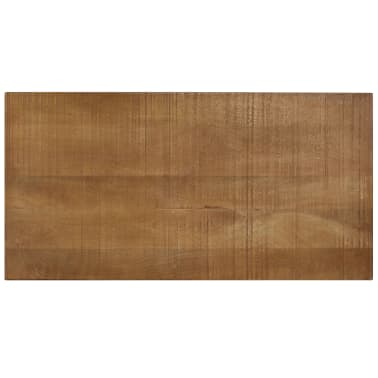 vidaXL Kavos staliukas, medienos masyvas, vintažinis st., 118x60x40cm[7/13]