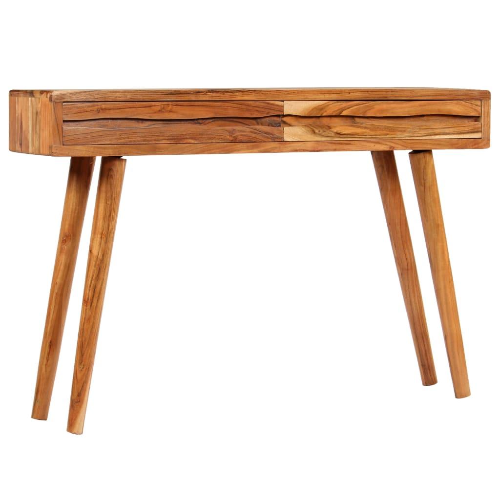 vidaXL Konzolni stol od masivnog bagremovog drva 118 x 30 x 80 cm