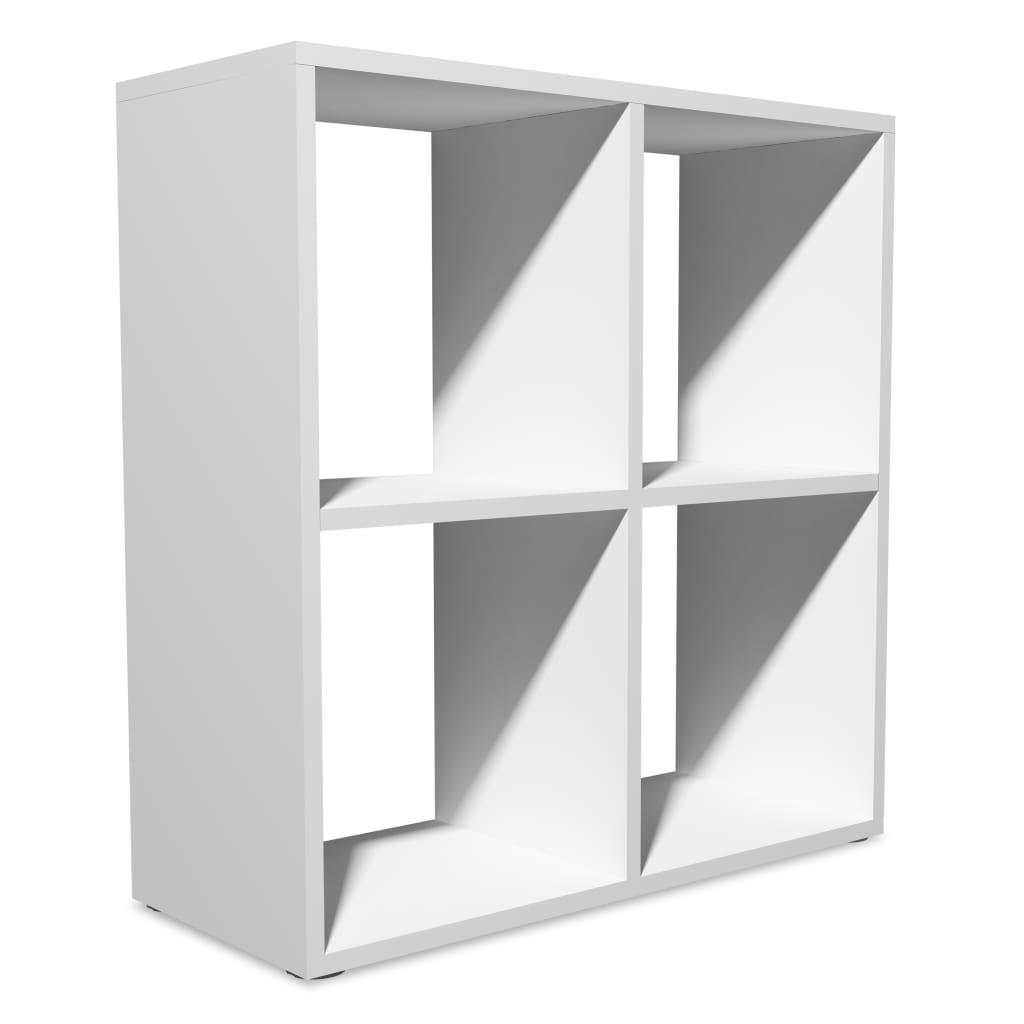 Afbeelding van vidaXL Boekenkast 70x29x72,8 cm wit