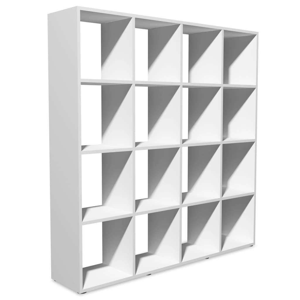 Afbeelding van vidaXL Boekenkast 138,5x29x142,5 cm wit