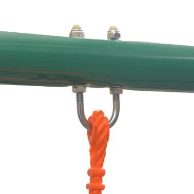 vidaXL Gungställning med 5 sitsar orange[5/12]