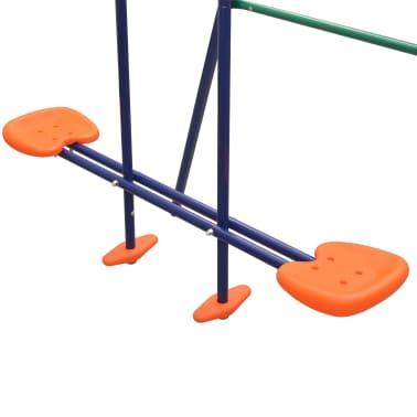 vidaXL Gungställning med 5 sitsar orange[7/12]