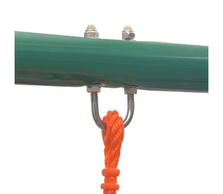 vidaXL Gungställning med 4 sitsar orange[4/10]