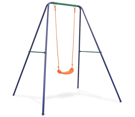 vidaXL Single Swing Orange
