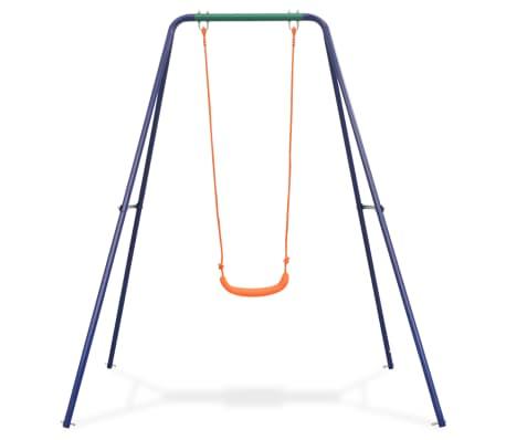 vidaXL Single Swing Orange[2/8]