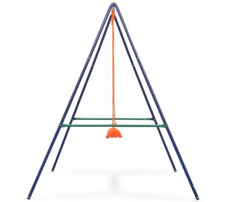 vidaXL 2-in-1 Single Swing and Toddler Swing Orange[4/16]