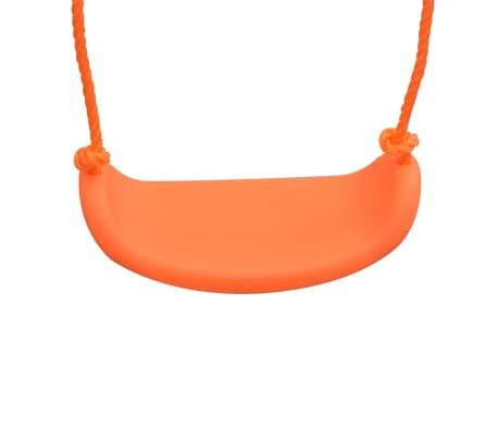 vidaXL 2-in-1 Single Swing and Toddler Swing Orange[9/16]