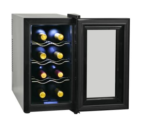 vidaXL Vinkyl med LCD-display 8 flaskor 25 L[3/6]