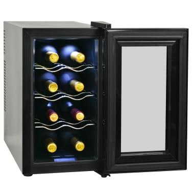 vidaXL Vinkjøler 25 L 8 flasker LCD-skjerm[3/6]