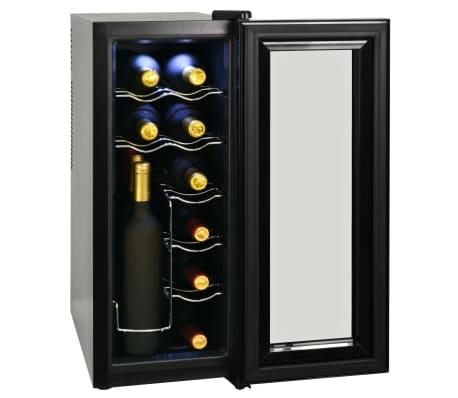vidaXL Frigo à vin 35 L 12 bouteilles Affichage LCD[3/6]