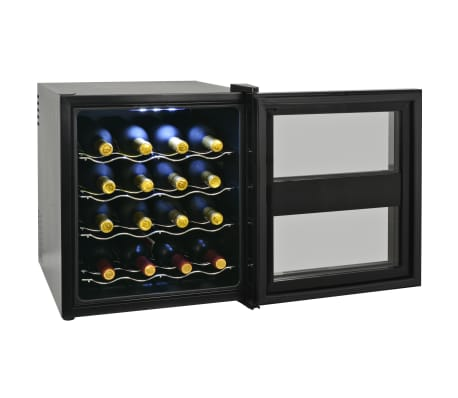 vidaXL Vinkyl med LCD-display 16 flaskor 48 L[3/6]