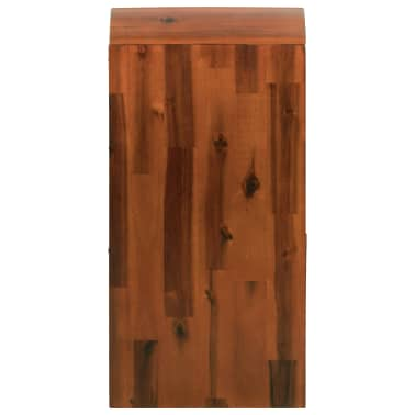 "vidaXL Chest of Drawers Solid Acacia Wood 17.7""x14.5""x29.5""[3/8]"