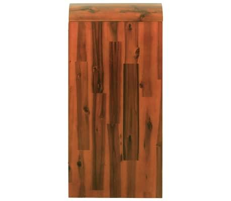 vidaXL Komoda su stalčiais, akacijos medienos masyvas, 90x37x75cm[4/7]