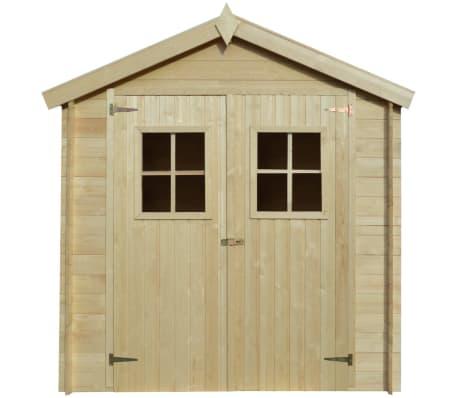 vidaXL Tuinhuis 2x1 m 19 mm hout[2/9]