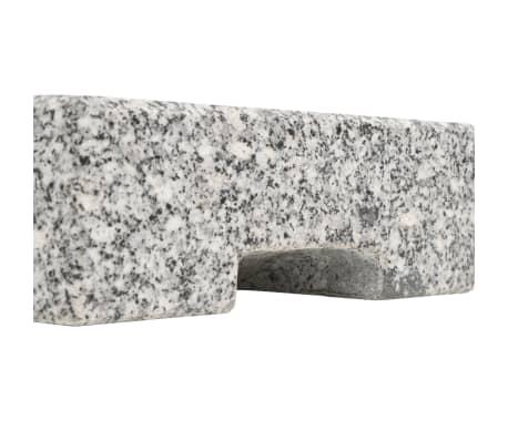 vidaXL Parasolvoet rechthoekig 25 kg graniet[5/8]