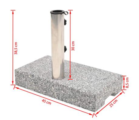 vidaXL Parasolvoet rechthoekig 25 kg graniet[8/8]
