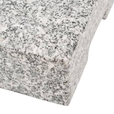 vidaXL Parasolvoet rechthoekig 25 kg graniet[7/8]