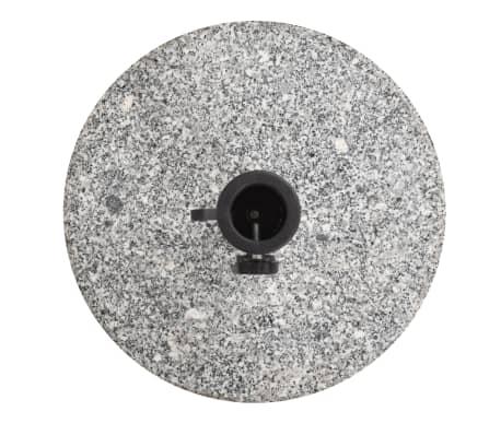 vidaXL Parasol Base Granite Round 48.5 lb[3/9]