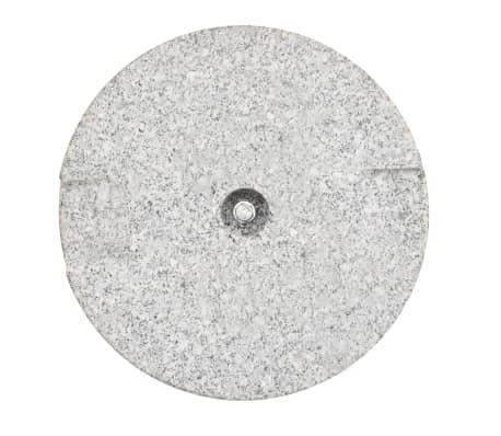 vidaXL Parasol Base Granite Round 48.5 lb[7/9]