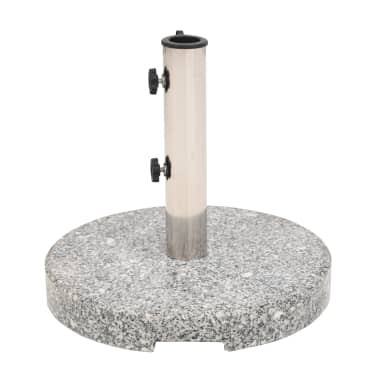 vidaXL Parasol Base Granite Round 48.5 lb[2/9]