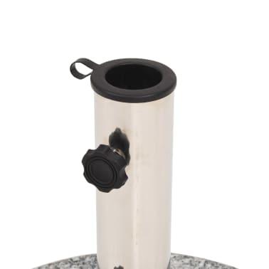 vidaXL Parasol Base Granite Round 48.5 lb[4/9]