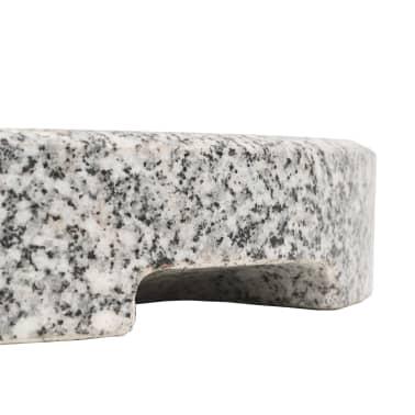 vidaXL Parasol Base Granite Round 48.5 lb[8/9]