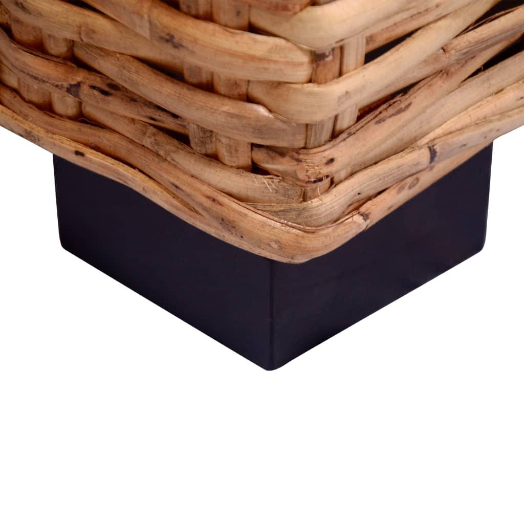 15-delna sedežna garnitura iz naravnega ratana