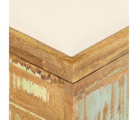 vidaXL Suolas su daiktadėže, perdirbta mediena, 80x40x40cm[4/12]
