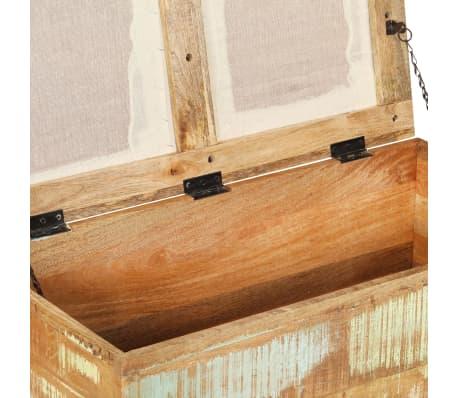 vidaXL Suolas su daiktadėže, perdirbta mediena, 80x40x40cm[5/12]