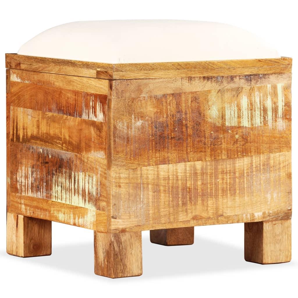 Hoiupink, tugev taastatud puit, 40 x 40 x 45 cm