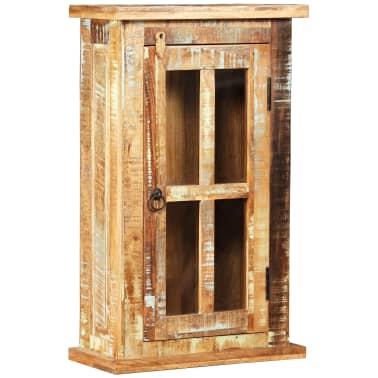 vidaXL Nástěnná skříňka masivní recyklované dřevo 44 x 21 x 72 cm[1/11]