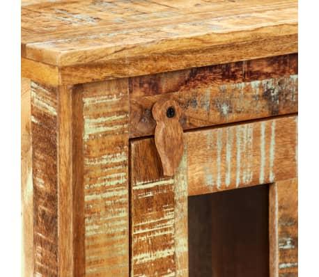 vidaXL Nástěnná skříňka masivní recyklované dřevo 44 x 21 x 72 cm[5/11]